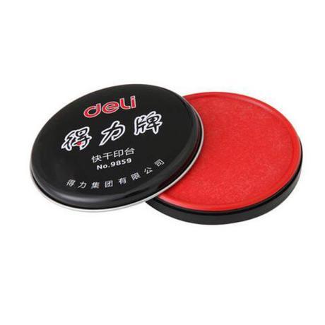 得力(deli)9859 快干印台(红色)得力(deli)9859 快干印台(红色)