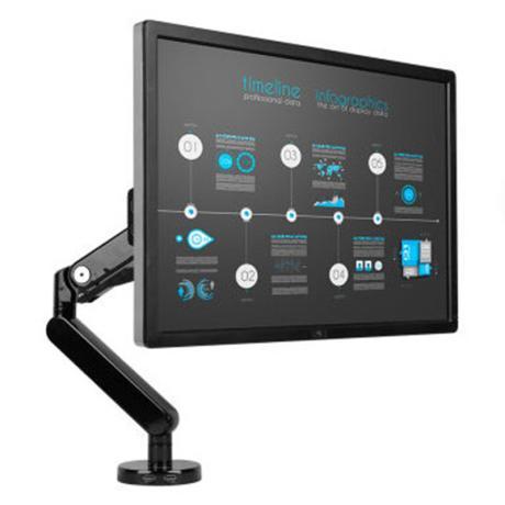 乐歌(Loctek)Q5 加重版电脑支架显示器支架乐歌(Loctek)Q5 加重版电脑支架显示器支架 全维度气弹簧式支架