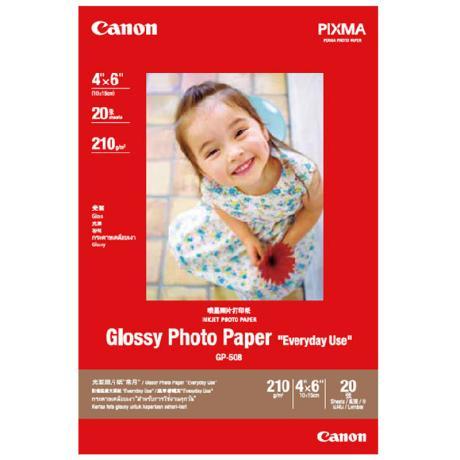 佳能CanonGP508高级光面A6照片相纸 20张/包佳能CanonGP508高级光面照片相纸A6   (20张/包)